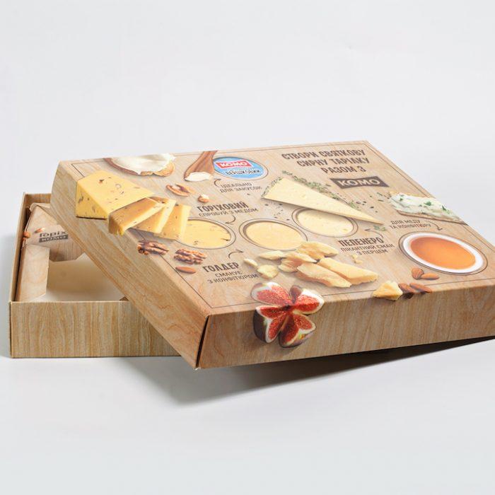 """Коробка для сирів """"Комо"""""""